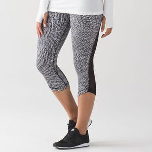 Lululemon Run Around Crop scatter star L30
